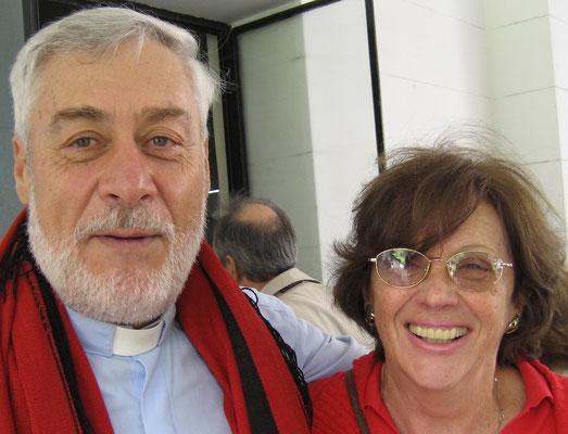 Mamerto Menapace y Martha Pereyra