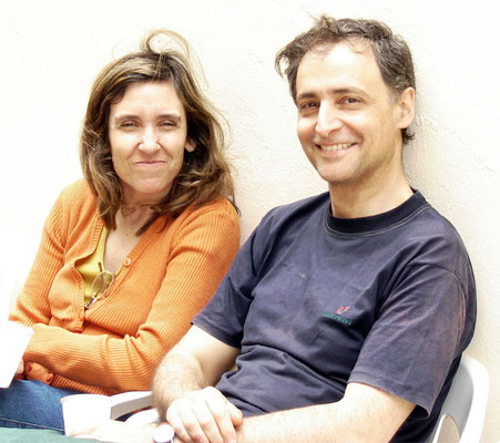 Marcela y Pablo Cavallero