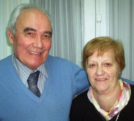 Norman y Amalia Bordarampe