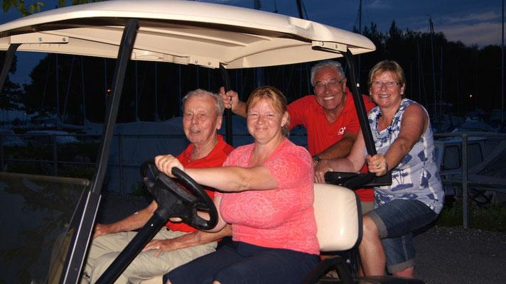 Das Club Car ... tolle Sache !