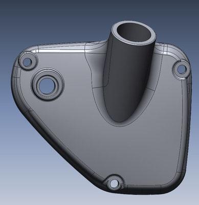 3D-model van deksel van racemotor Laverde SFC