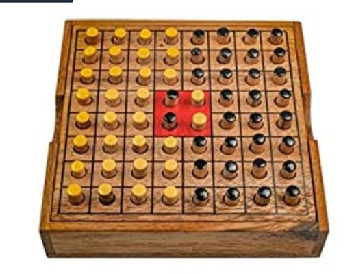 Wackel Turm Gr L Holzturm Condo Geschicklichkeitsspiel Familienspiel aus Holz Gesellschaftsspiel