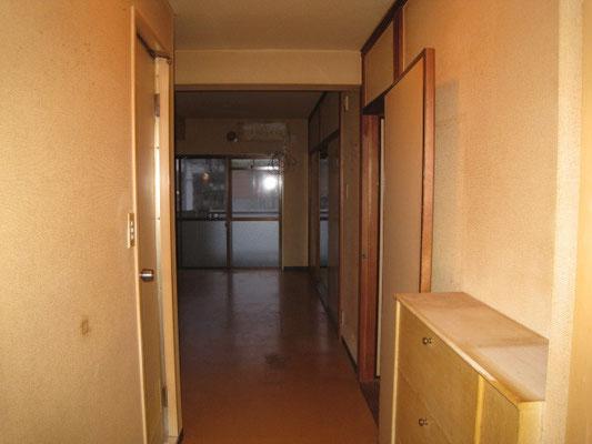 小町第一マンション(2階) 玄関 befor