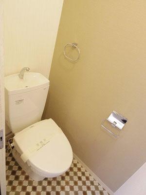 小町第一マンション(2階)after トイレ