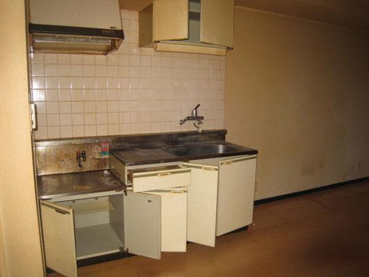小町第一マンション(2階) befor キッチン