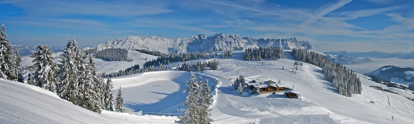 Panorma Skiwelt Wilder Kaiser