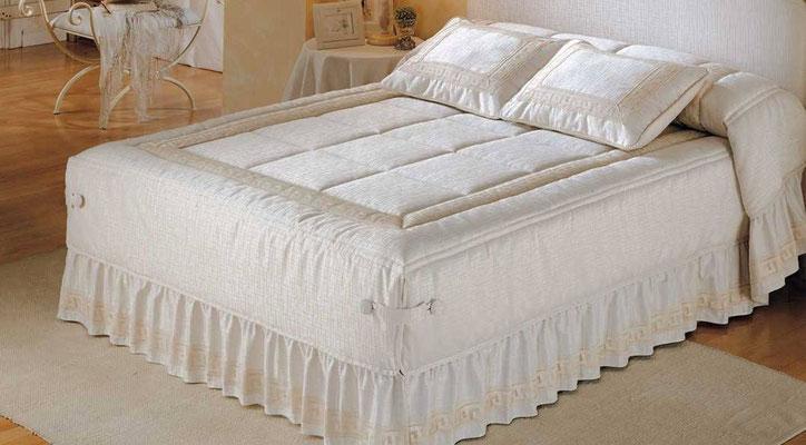 Colcha Edredon Semi Conforter 7 Jacquard (Color Unico). Medidas y precios disponibles para camas de: 90cm (247€) 105cm (257€) 135cm (272€) 150cm (285€) 180cm (299€)