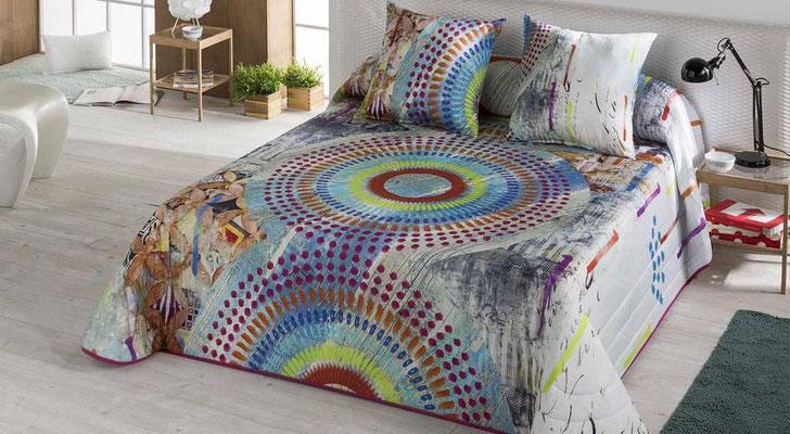 Bouti Modelo Colors (Disponible en Fucsia y Malva) Tambien en Funda Nordica y Edredon Ajustable. Medidas y precios disponibles para camas de: 90cm (103€) 105cm (106€) 135cm (122€) 150cm (125€) 180cm (129€)