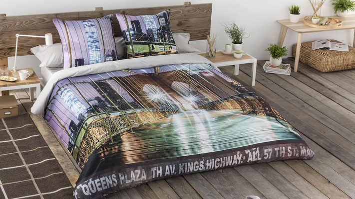 Funda Nordica Modelo Brooklyn (Color Unico) Tambien en Bouti. Medidas y precios disponibles para camas de: 90cm (83€) 105cm (87€) 135cm (105€) 150cm (107€) 180cm (122€)