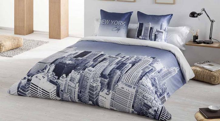 Funda Nordica Modelo New York (Color Unico) Tambien en Bouti y edredon ajustable. Medidas y precios disponibles para camas de: 90cm (83€) 105cm (87€) 135cm (104€) 150cm (107€) 180cm (122€)