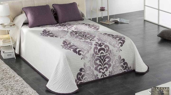 Colcha Pique Reversible Modelo Palace (Disponible en (Fucsia, Azul y Gris) Medidas y precios disponibles para camas de: 135cm (89€) 150cm (93€) 180cm (99€)