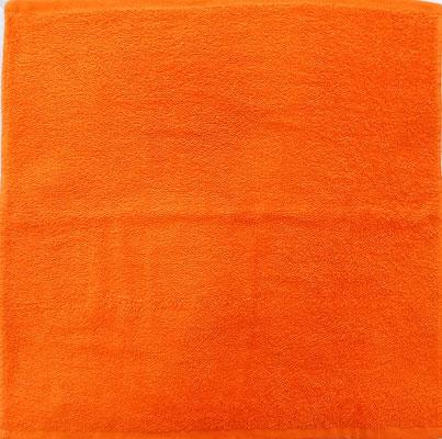 Paño cocina Dolz liso Naranja