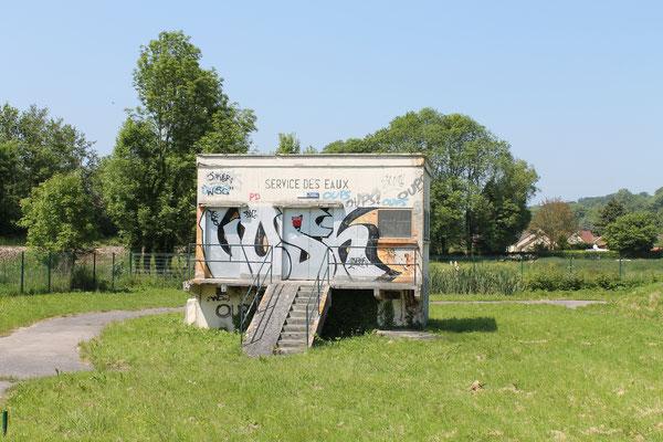 Captage d'eau potable à St Aubin Sur Scie