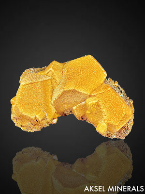 AM838 - Siderite cast after Calcite - Broken Hill Mine, Aggeneys, Northern Cape Province, Afrique du Sud - 83x42mm