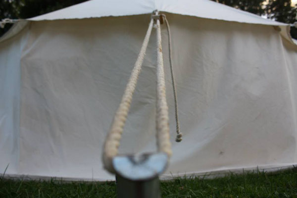 Zelt außen