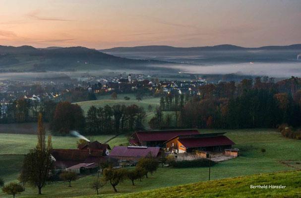 November 2020, Morgenstimmung bei Ottenbach