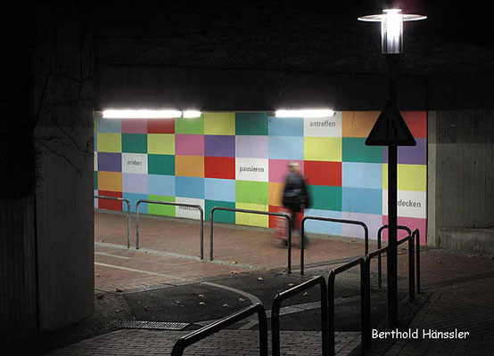 Eislingen - Kunst an der Bahnunterführung