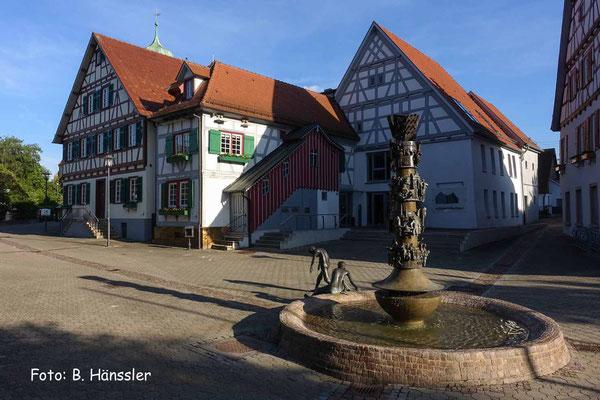 Stadtplatz in Süßen