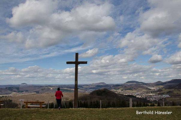 Aussichtpunkt Maierhalde westlich der Kuchalb
