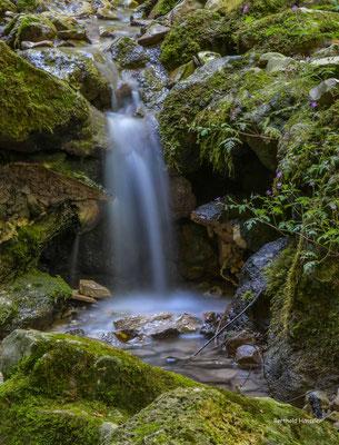 Juli 2020, Wasserfall im Autal