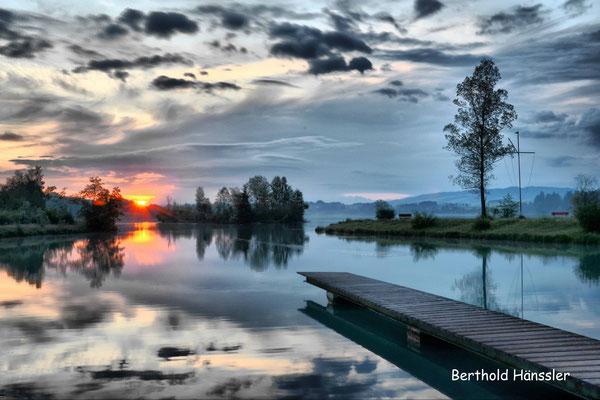 Bayern - Morgenstimmung am Lechsee