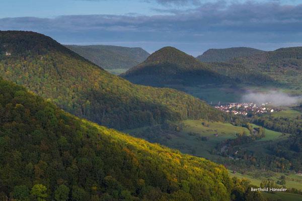 Einen schönen Blick hat man von Türkheim ins Obere Filstal