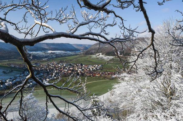 März 2020 Wintereinbruch am Haarberg