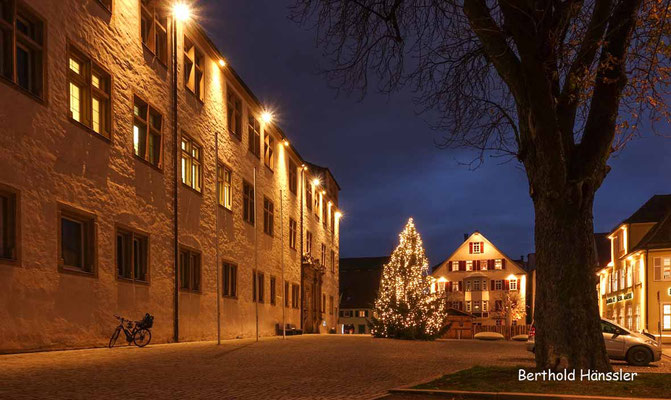 Dezember 2020, Schlossplatz