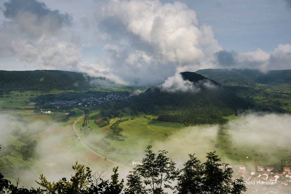September 2020, Nebelmeer im Oberen Filstal