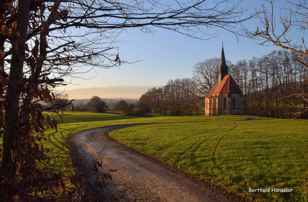 Kapelle Hürbelsbach auf dem Weg von Süßen nach Donzdorf