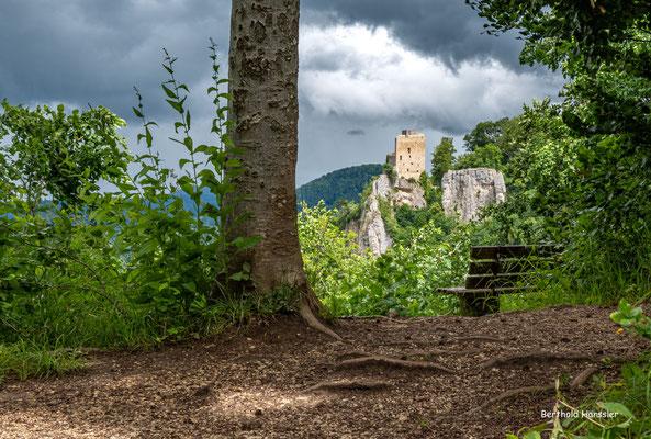 Juni 2021, Ruine Reußenstein