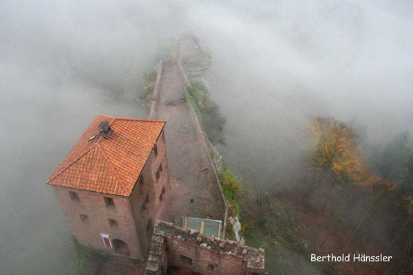 Pfalz - Turmblick vom Trifels