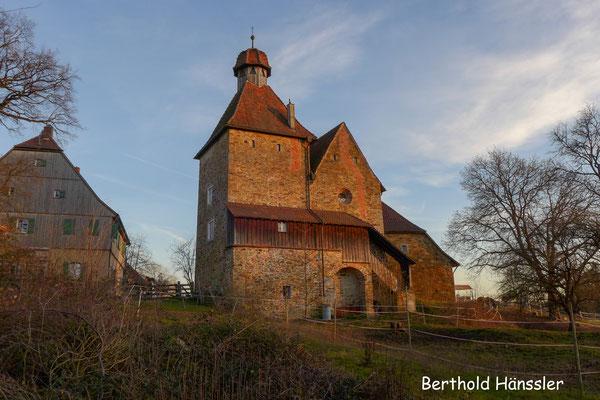 Altes Schloss oberhalb von Rechberghausen