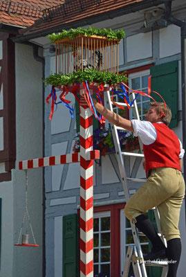 Süßen - Stadtfest mit Hahnentanz