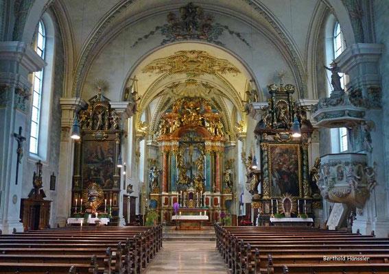 Pfarrkirche in Deggingen