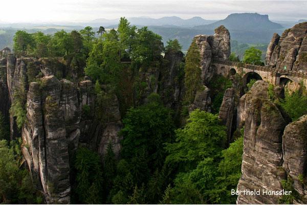 Elbsandsteingebirge - Morgenstimmung an der Bastei