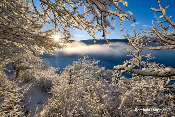 Dezember 2020, Blick von der Nordalb