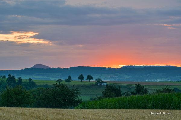 Kreis Göppingen, Sonnenaufgang bei St. Gotthardt