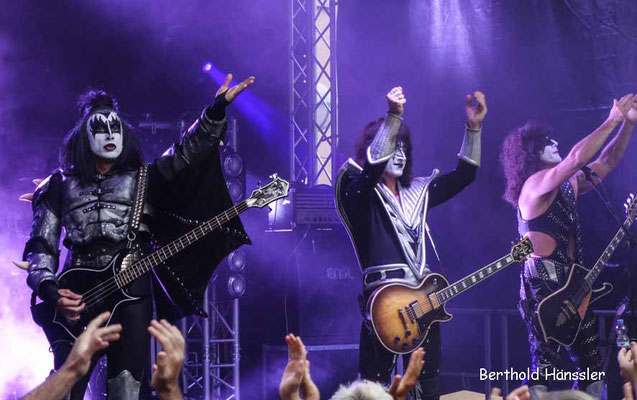 Eislingen - Filstalrock 2018 mit Kiss-Revival