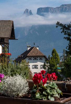 Oktober 2020, Südtirol, Wanderung auf dem Ritten