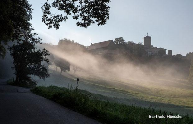 August 2021, Morgennebel am Staufeneck
