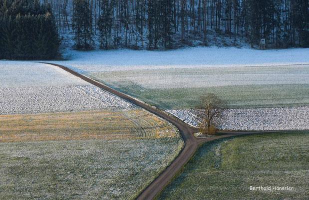 März 2020 Wintereinbruch am Gairensattel