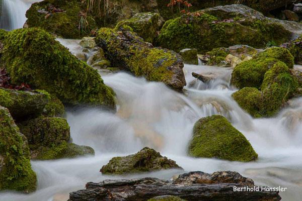 Februar 2021, Autal - beim Wasserfall