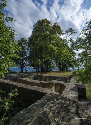 Reste der Burg Hohenstaufen