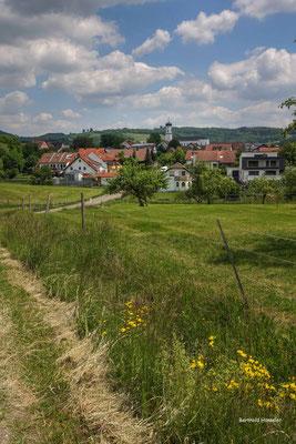 Mai 2020, Blick auf Ottenbach