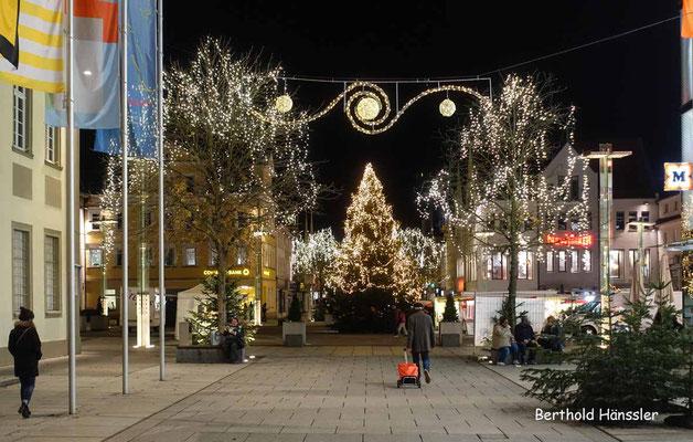 Dezember 2020, Rathausplatz