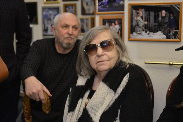 Великие Гета Яновская и Кама Гинкас. Люди, характеры, таланты. Они делают отечественный театр.