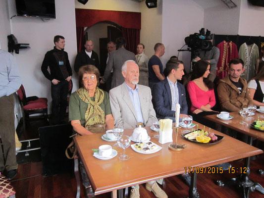 Лариса Леонова, Олег Зорин, Александр Милевский, Евгения Гагарина и Вадим Франчук