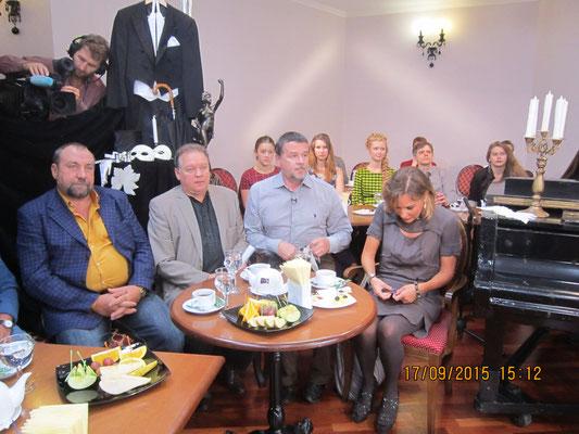 Александр Николаенко, Олег Куликович, Евгений Баранов и Татьяна Буланова