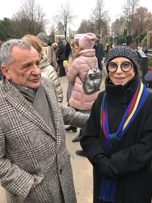 Рудольф Фурманов и Инна Чурикова. 27 октября 2019 г.